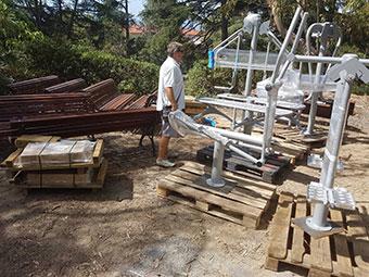 Parco del Novaro: lavori in corso
